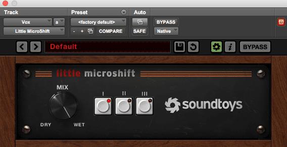 Best Chorus Plugin: Soundtoys Little MicroShift - Crē•8 Music Academy