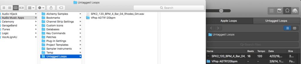 Logic Pro X Apple Untagged Loops tutorial files