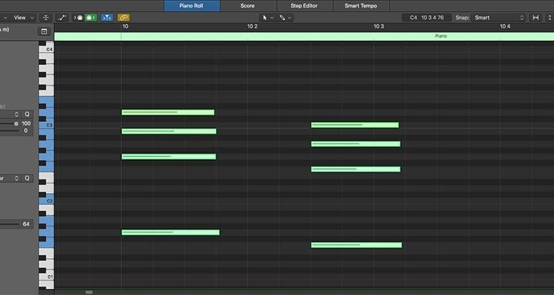 DAW tool - Logic Pro Screen