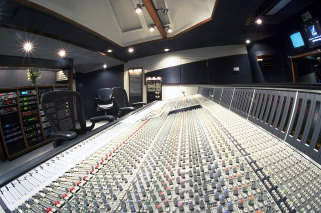 Westlake Studio C Sound Room
